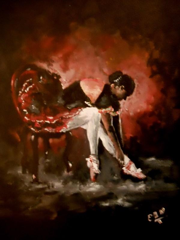 Black Ballerina Adngraphic Foundmyself