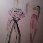 Fashion Illustration Draping Study Bria Anderson Foundmyself