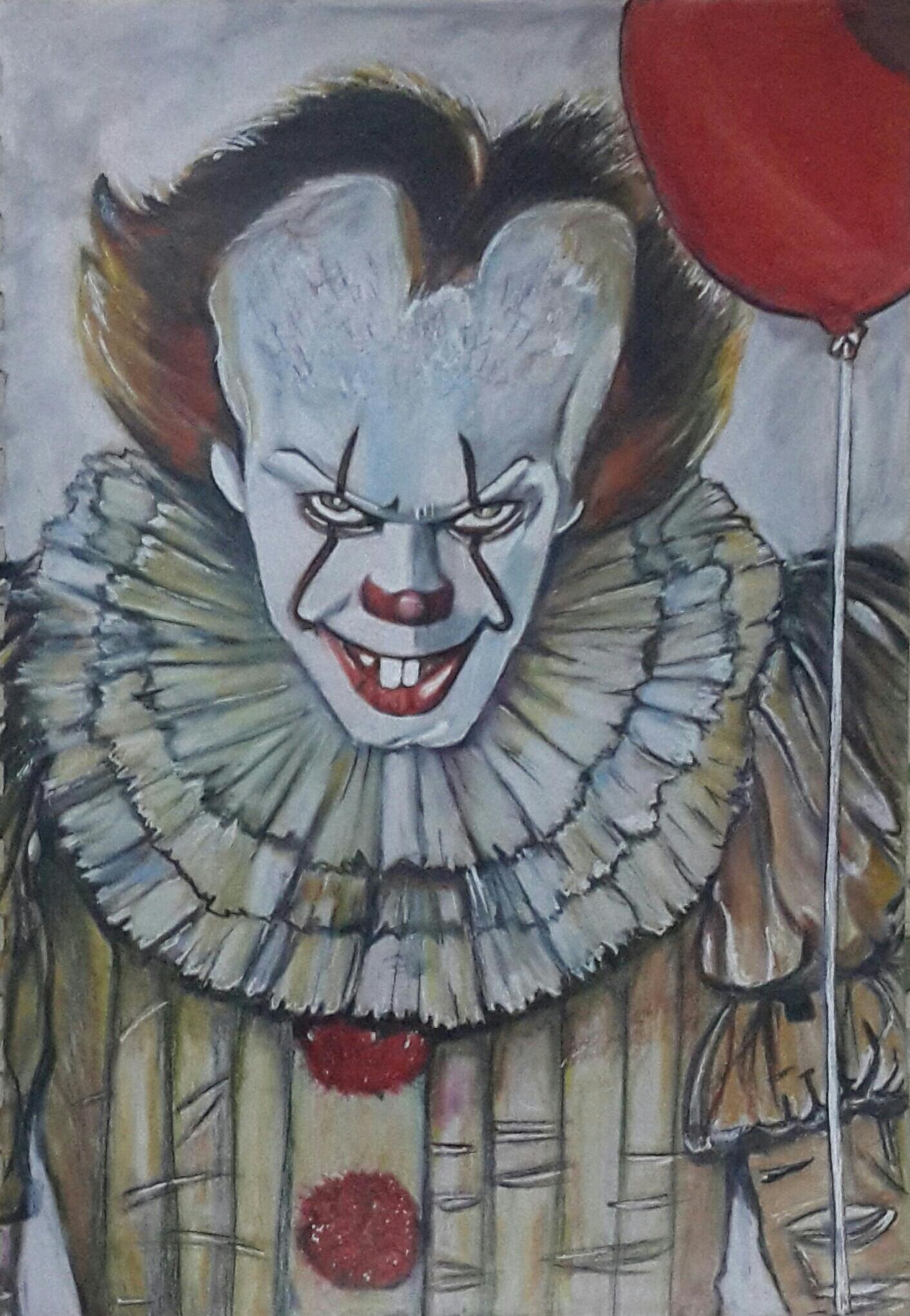 IT - Pennywise The Dancing Clown Illustration Art | vickysalvi10 | Foundmyself