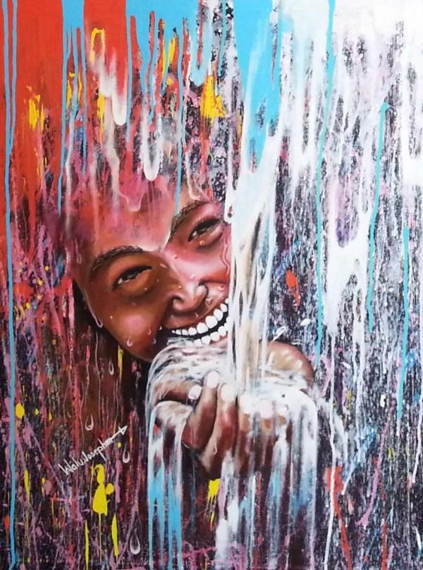 Water Happiness Walusimbi Joseph Foundmyself
