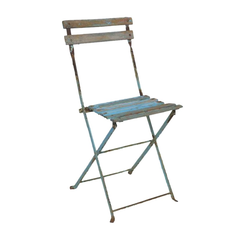 blue bistro chairs iron dining room cosette found rentals
