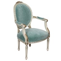 Atlantis Teal Armchair