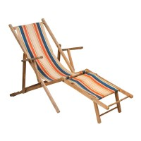 Beach Chair With Leg Rest. Foldable Wooden Adirondack ...
