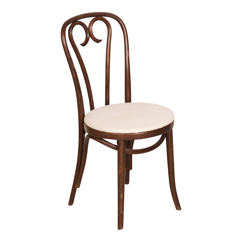 Brett Upholstered Bentwood Chairs  Found Rentals