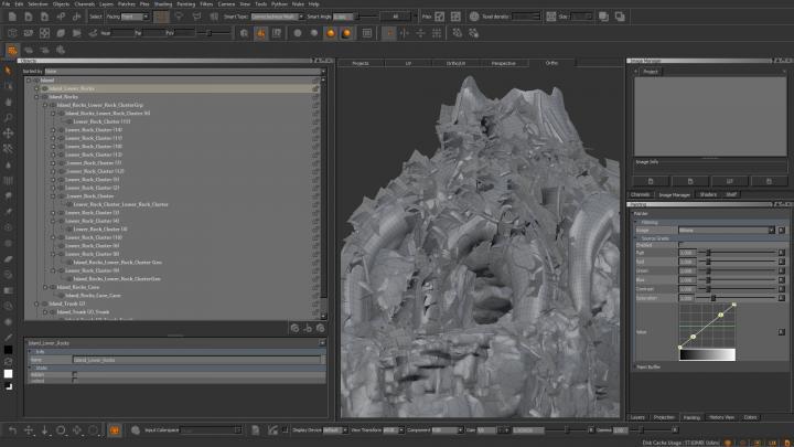 Mari's complex geometry handling image