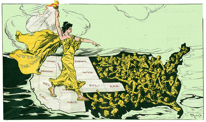 Suffrage and Spiritualism  FoundSF