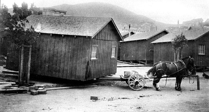 Bernal Heights 1906 Quake Shack survivors  FoundSF