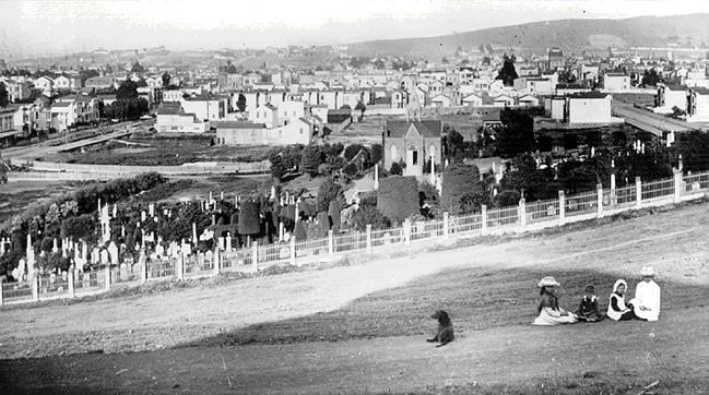Jewish Cemetery  FoundSF