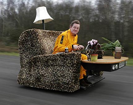 la z boy recliner chairs uk gaming chair design la-z-y racer » funny, bizarre, amazing pictures & videos