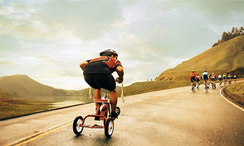 Tricycle Racer | Erika Almas