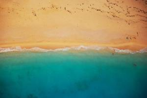 the waters of shoal beach bay