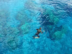 Snorkeling off Scrub Island Anguilla
