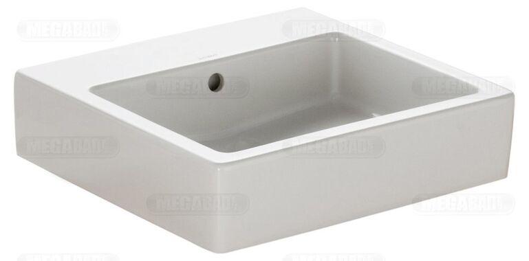 duravit vero 500 x 470mm washbasin no tap hole