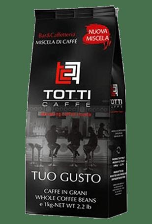 кофе в зернах, Тотти Туо Густо, Totti Tuo Gusto, кофе 1 кг.