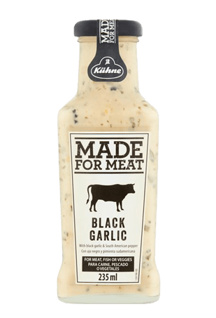 """KUHNE """"Made for Meat"""" Black garlic, 235 мл"""