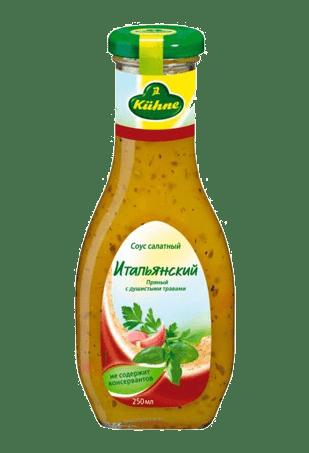 Соус салатный «Итальянский», KUHNE Italian, 250 мл