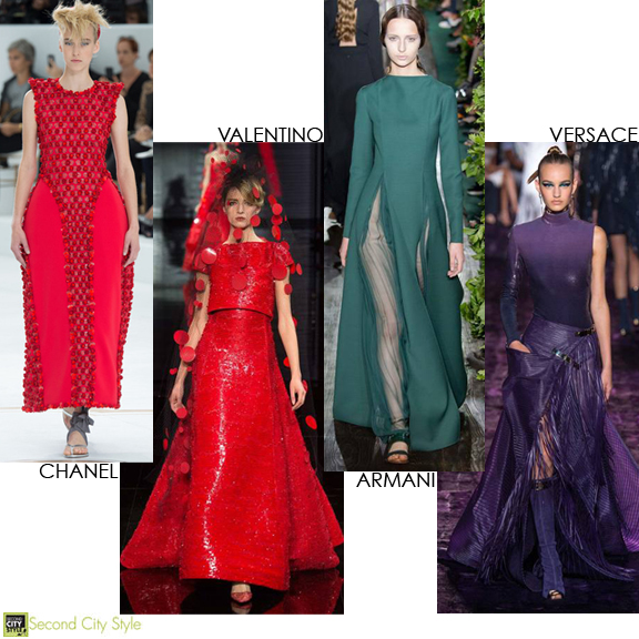 couture fall 2014, Chanel, Valentino, Versace, Armani,