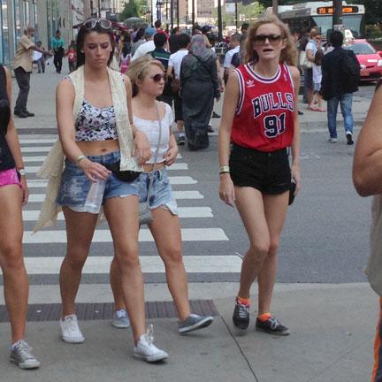 Lollapalooza Fashion Style Shorts 2014