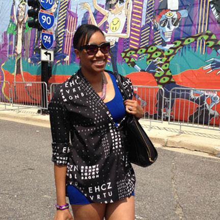 Lollapalooza Fashion Style Taneisha