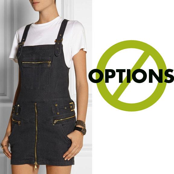 Overalls jumper, GENETIC X Liberty Ross Vivid Skirt-All Stretch-Denim Mini Dress