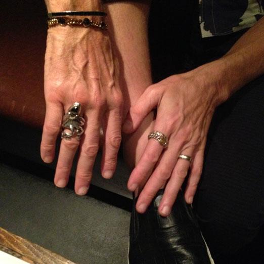 Perry Farrell, rock star Jewelry