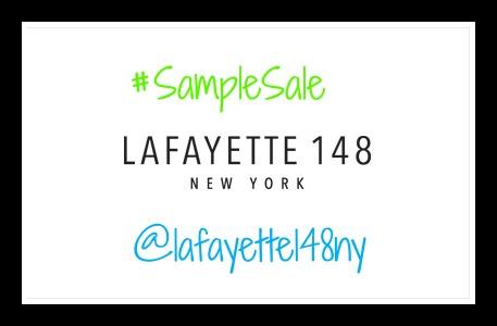 lafayette 148 New York Sample Sale