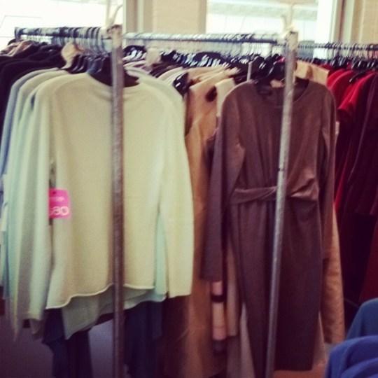 Lafayette 148 New York cashmere sweaters sample sale