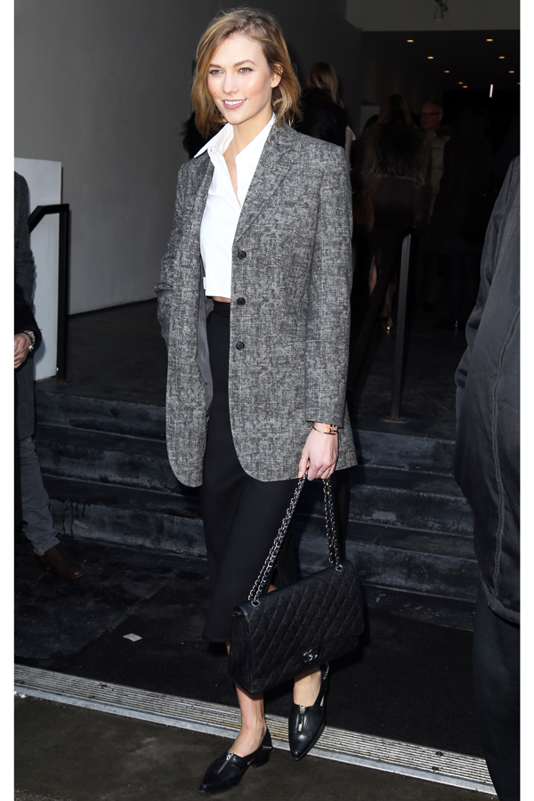 Karlie Kloss Looks Tailored and Classy