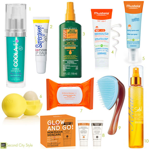 Beauty Summer SPF Products