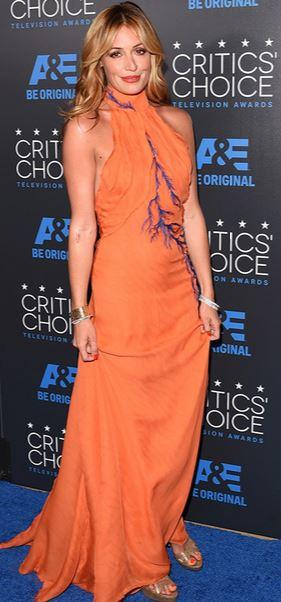 Cat Deeley, Critics Choice Television Awards 2015, Azzaro