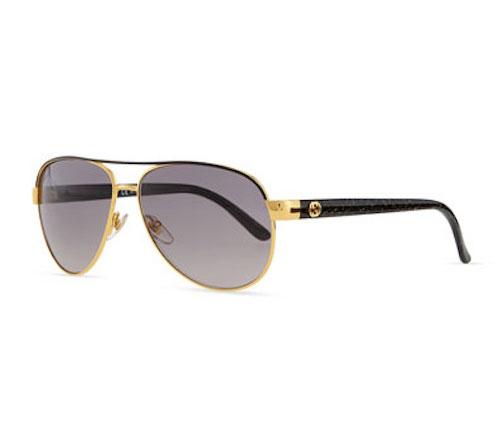 Gucci, Metal Aviator Sunglasses