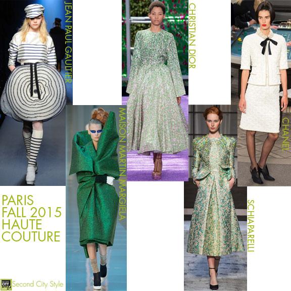 Haute Couture Fall 2015, Paris, Chanel, Jean Paul Gautier, Christian Dior
