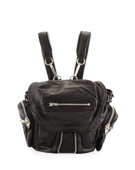 Alexander-Wang-Black-Mini-Marti-Backpack