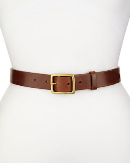 Brown Belt, Rag & Bone, Leather Belt