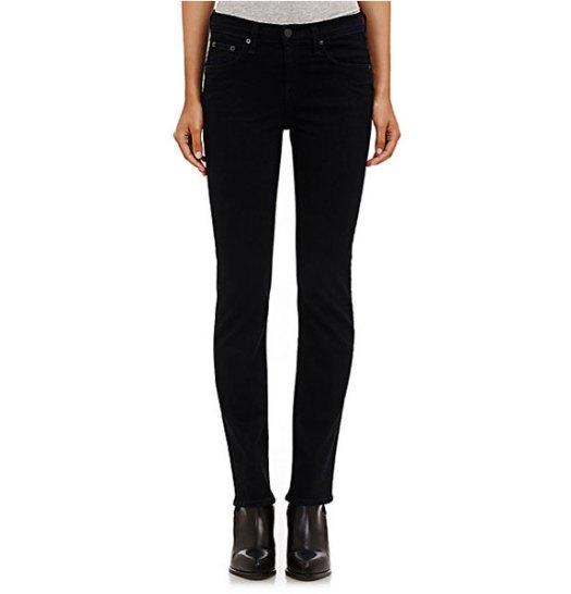 Rag & Bone, cigarette, High-Rise Straight-Leg Jeans