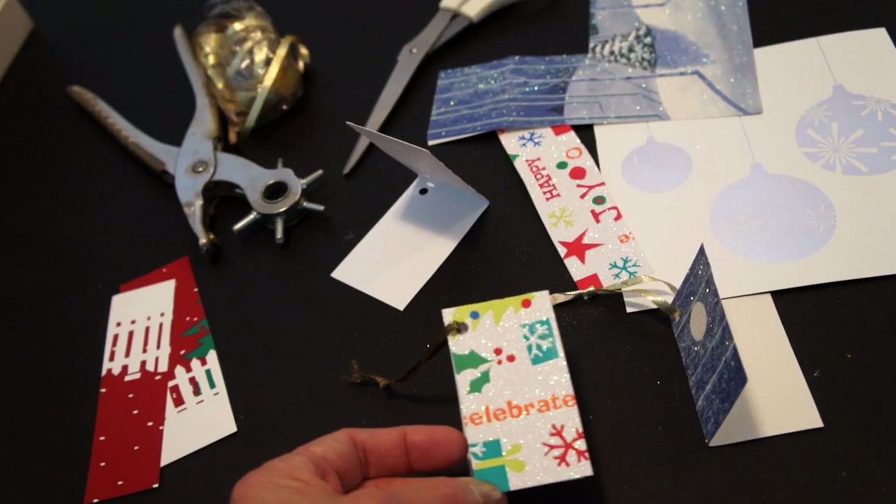 DIY Unique Recycled Gift Tags