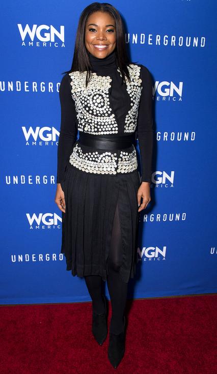 Gabrielle Union in Altuzarra Sundance Film festival 2016
