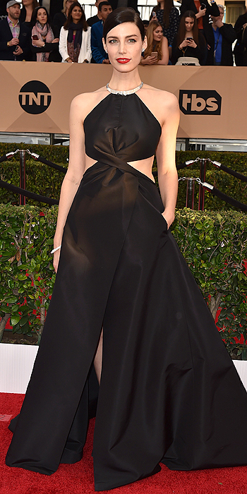 Jessica Pare in Kaufmanfranco SAGs 2016 Red Carpet