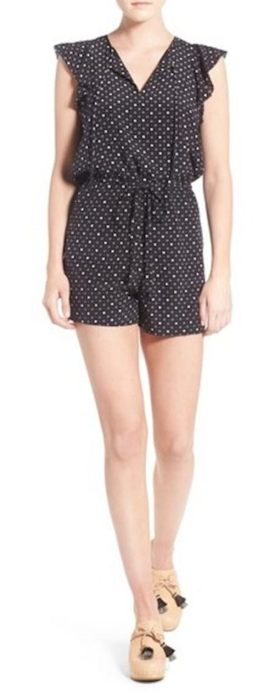 dotted-silk-shorts-romper