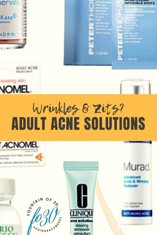 adult acne solutions products