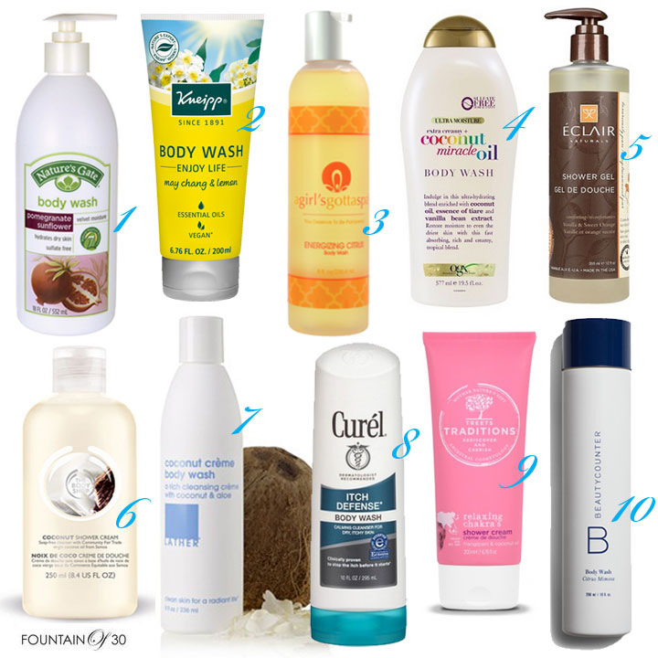 Good For Your Skin Body Washes 10 products