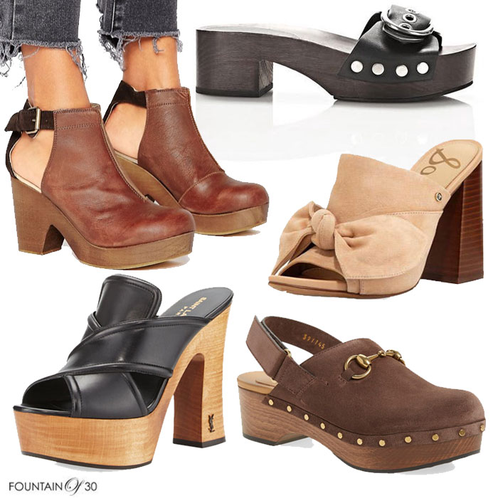 Nursing Shoes With Spring Heel