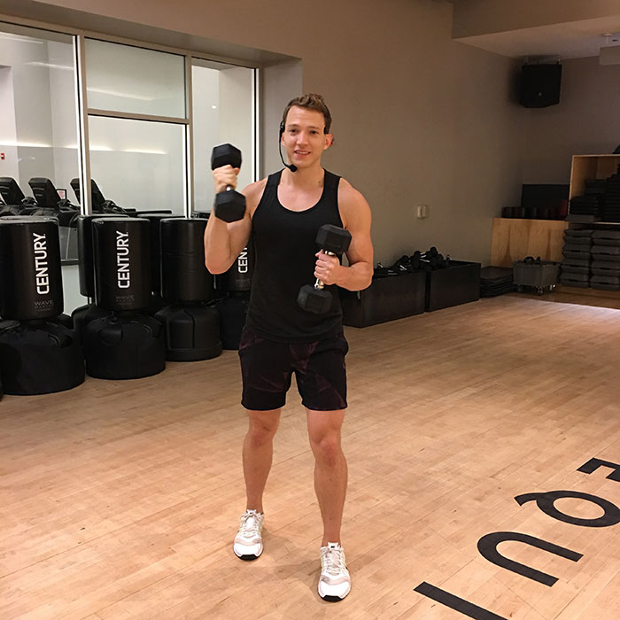 Jump On The Latest Fitness Classes At Equinox! Matheu Martell