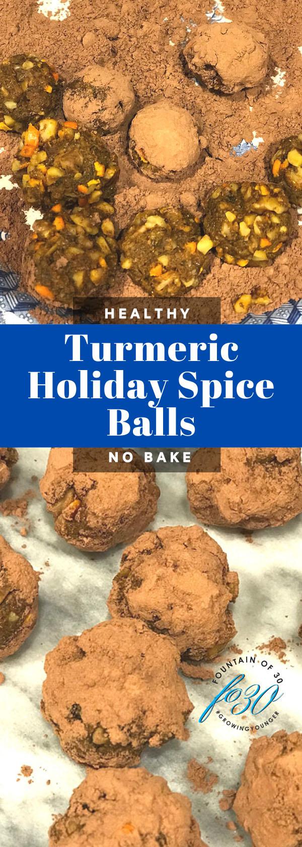 turmeric balls recipe fountainof30