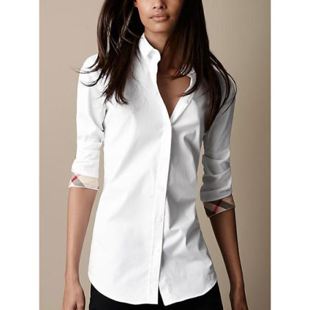 wear basics that fit - white shirt