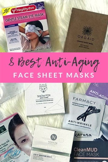 Best Anti-Aging Face Sheet Masks