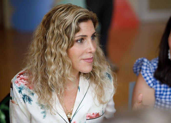 meditate with Headspace Lauren Dimet Waters listneing