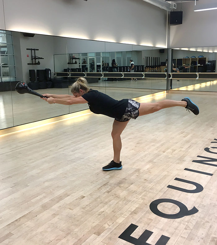 Equinox True Athlete Julie Bellis instructor balance movement