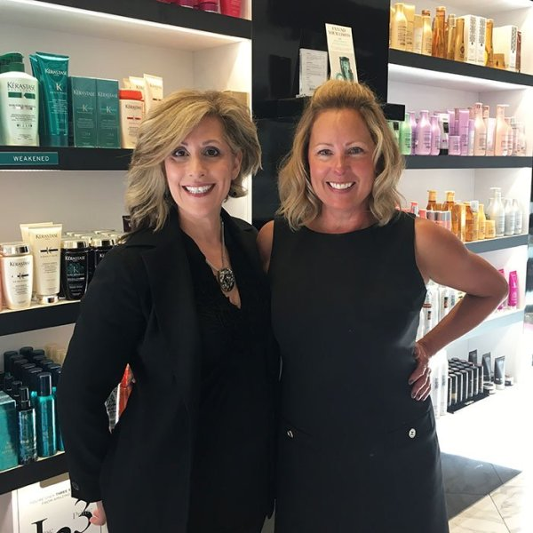 anti-aging hairstyling tips Stylist Christy Goluszka and Colorist Judy Johnson
