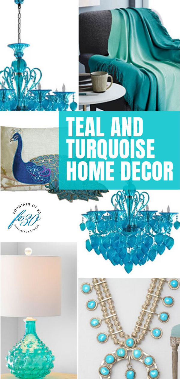 teal vs turquoise home decor